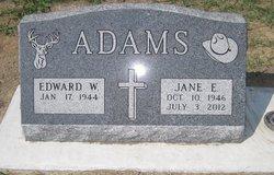 Jane Ellen <I>Gerlach</I> Adams