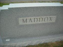 Sara <I>Wilson</I> Maddox