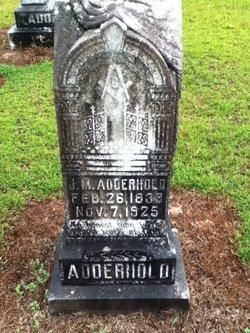 J. M. Adderhold