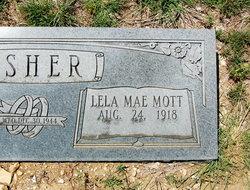 Lela Mae <I>Mott</I> Asher