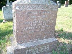 Rose Anna <I>Healey</I> Myers