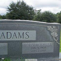 Doris <I>McHargue</I> Adams