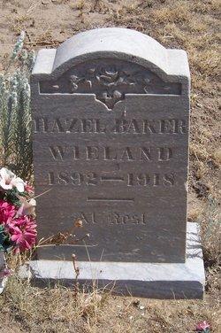 Hazel B <I>Wieland</I> Baker