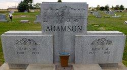 Grace M <I>Homan</I> Adamson