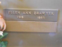Ellen Ann <I>Tucker</I> Drawyer