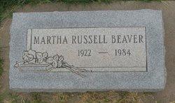 Martha <I>Russell</I> Beaver