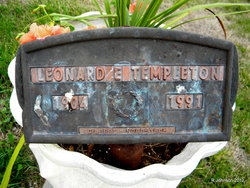 Leonard Earl Templeton