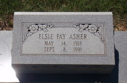 Elsie Fay Asher
