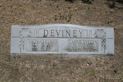 Carrie Evelyn <I>Norman</I> DeViney
