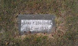 Sarah Frances <I>Currier</I> Edgcumbe