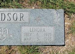 Lenora <I>Bryant</I> Windsor