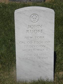 John Ruoff