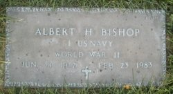 "Albert Henry ""Sonny"" Bishop"