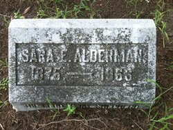Sara <I>Edmunds</I> Alderman