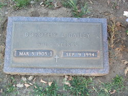 """Dorothy Louise """"Toots"""" <I>Gilliland</I> Bailey"""