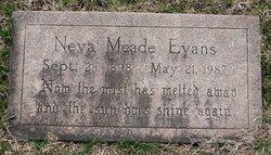Neva Ella <I>Meade</I> Evans