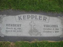 Virginia Edwards <I>Thompson</I> Keppler