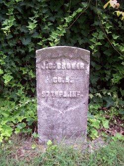 Pvt Joseph G. Brower