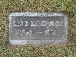 """Aaron Bernard Leonard """"Ben"""" Lagerquist"""