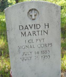 David Hampton Martin