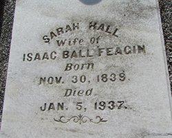 Sarah <I>Hall</I> Feagin