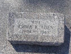 Emma K Aden