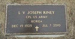 L V Joseph Riney