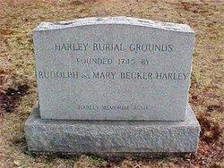 Mary <I>Becker</I> Harley