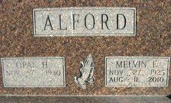 Melvin E Alford