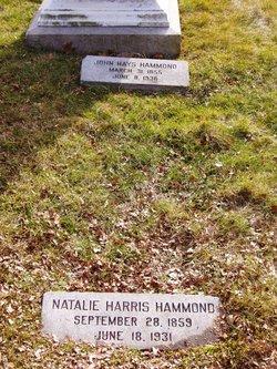 Natalie <I>Harris</I> Hammond