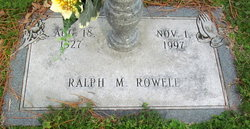 Ralph Monroe Rowell