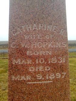 Catherine R. <I>Stone</I> Hopkins