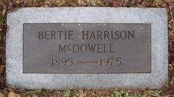 Bertie <I>Harrison</I> McDowell