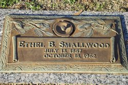 Ethel Lee <I>Bagwell</I> Smallwood