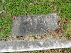 Alice <I>Gray</I> Armfield