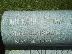 Clara <I>Konig</I> Ingram