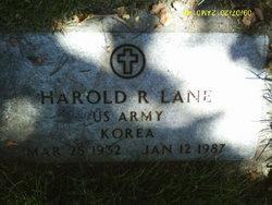 Harold Russell Lane