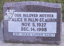 Alice Helena <I>Jensen</I> St. Aubin