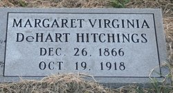 Margaret Virginia <I>DeHart</I> Hitchings