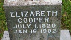 """Elizabeth """"Etta"""" <I>Hargrave</I> Cooper"""