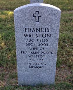 Francis Jewel <I>Hensley</I> Walston