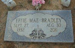 Effie <I>Rothrock</I> Bradley
