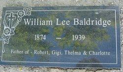 William Lee Baldridge