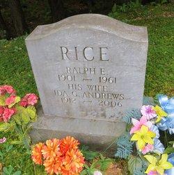 Ida G <I>Andrews</I> Rice