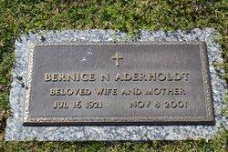 Bernice N Aderholdt