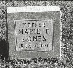 Marie Frances <I>Frazier</I> Jones