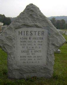 Sallie B <I>Spatz</I> Hiester