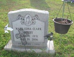 Mary Edna <I>Clark</I> Busby