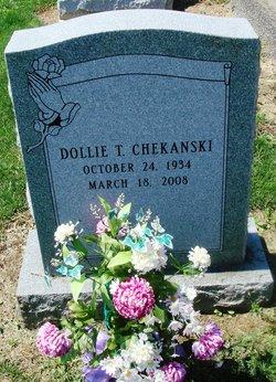 Dolly T. <I>Parshook</I> Chekanski