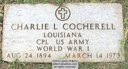 "Corp Charles Lafayette ""Charlie"" Cocherell"
